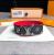 Louis Vuitton Monogram Red & Black Bracelet