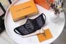 Louis Vuitton Black Mask