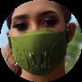 Tokova Sleek Designer Face Mask – Green