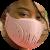 Tokova Sleek Designer Face Mask – Pink